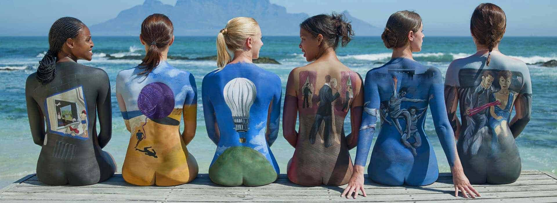 Pink Floyd Body Paint