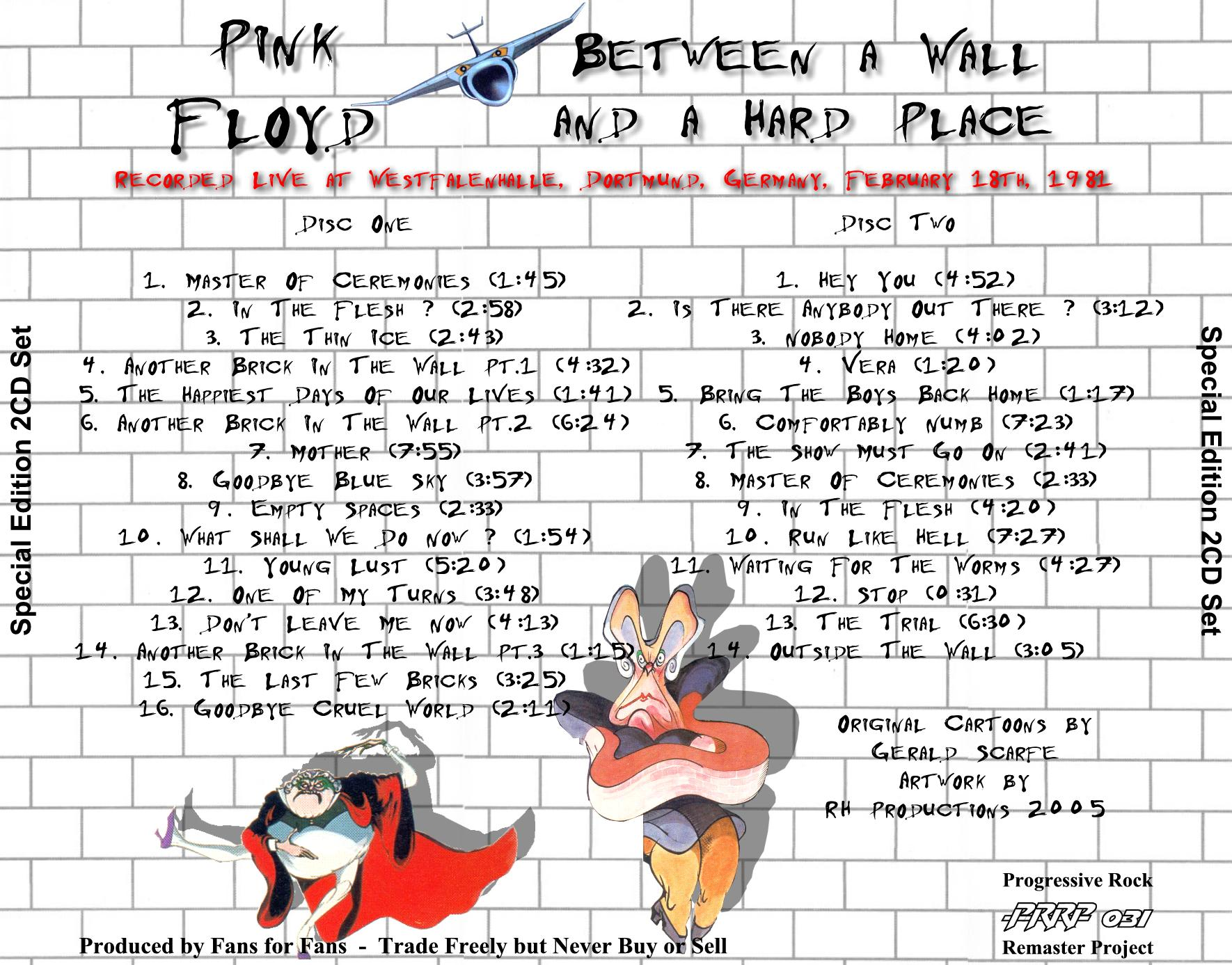 Lossless Search Results for Pink Floyd - PRRP031 Between a