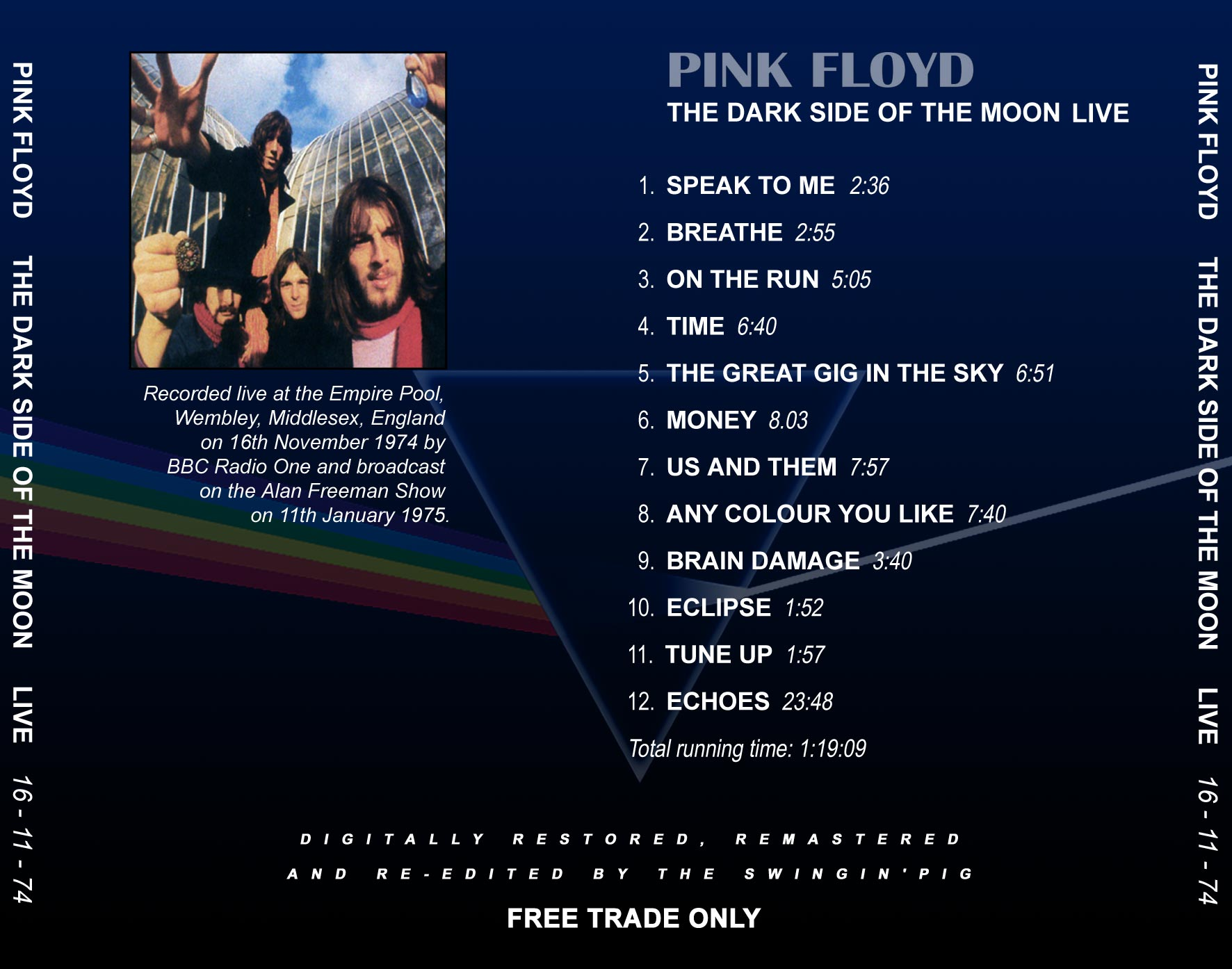 Lossless Search Results For Pink Floyd Time In London 1974 11 16