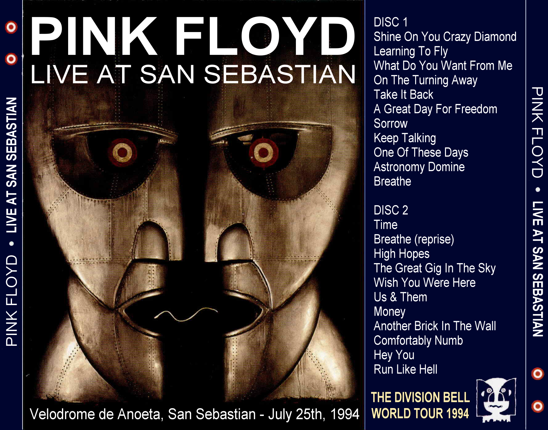 Lossless Search Results for Pink Floyd - Live San Sebastian - 1994-07-25