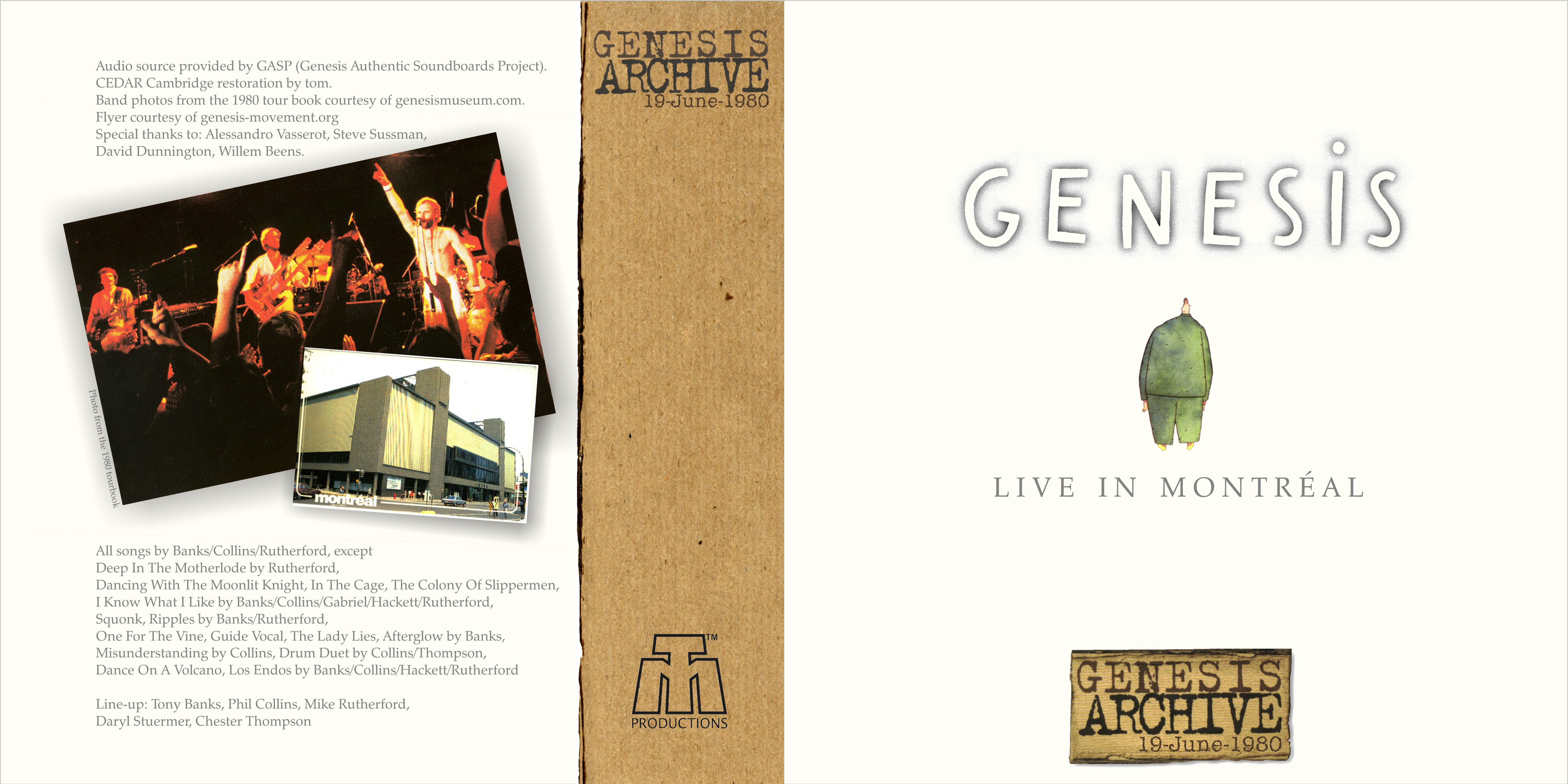 Lossless Search Results for Genesis - Live In Montreal