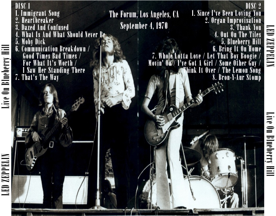Led zeppelin live on blueberry hill download