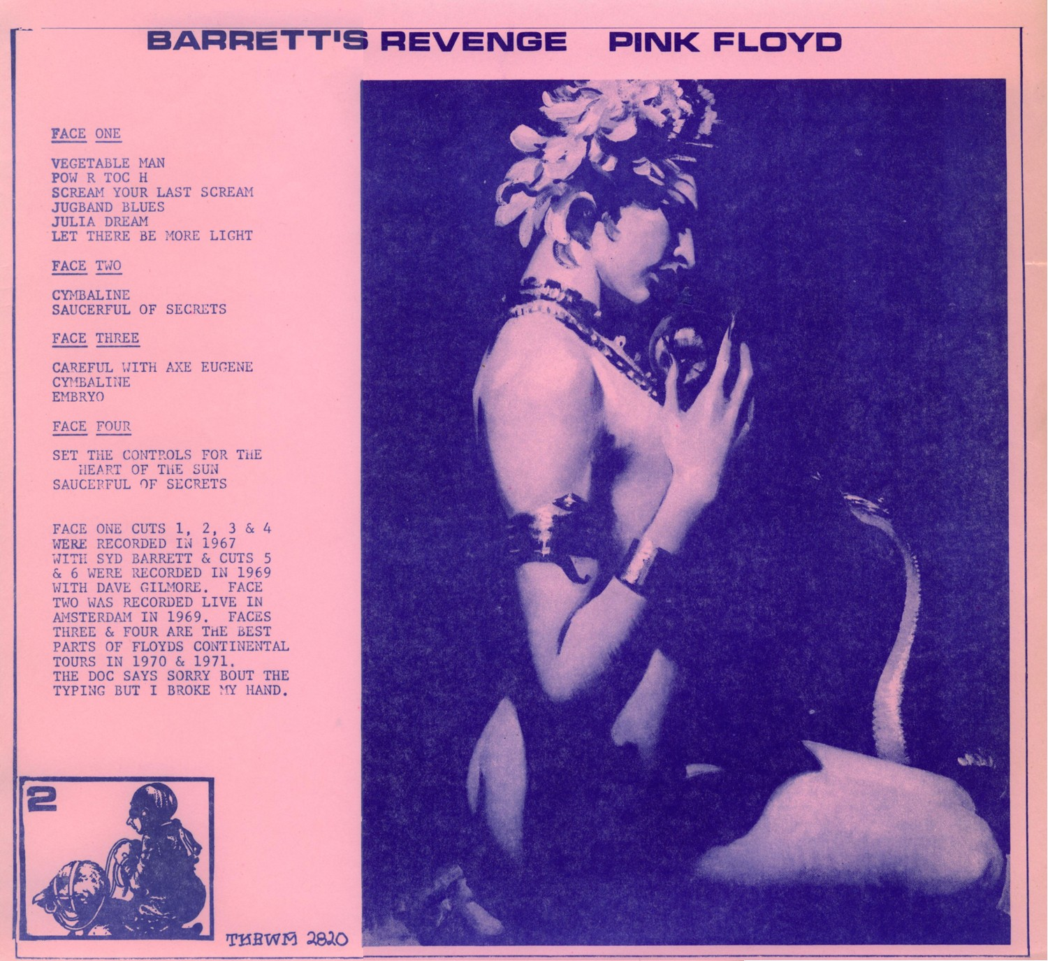 Lossless Search Results for Pink Floyd - Barretts Revenge