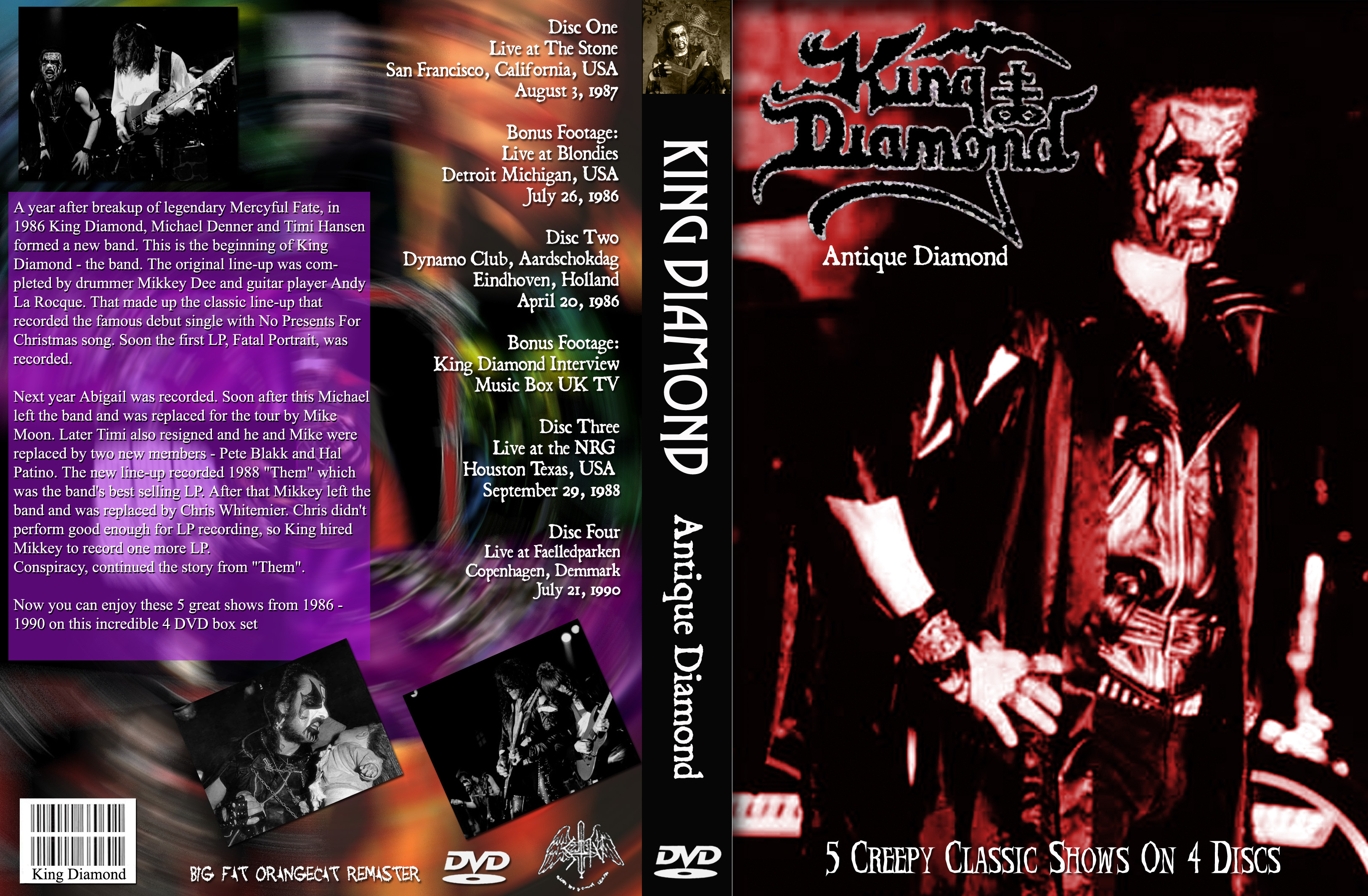 King diamond no presents for christmas - Front Cover Art